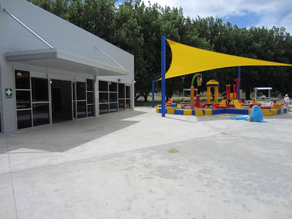 New amenities at Aquatic Centre
