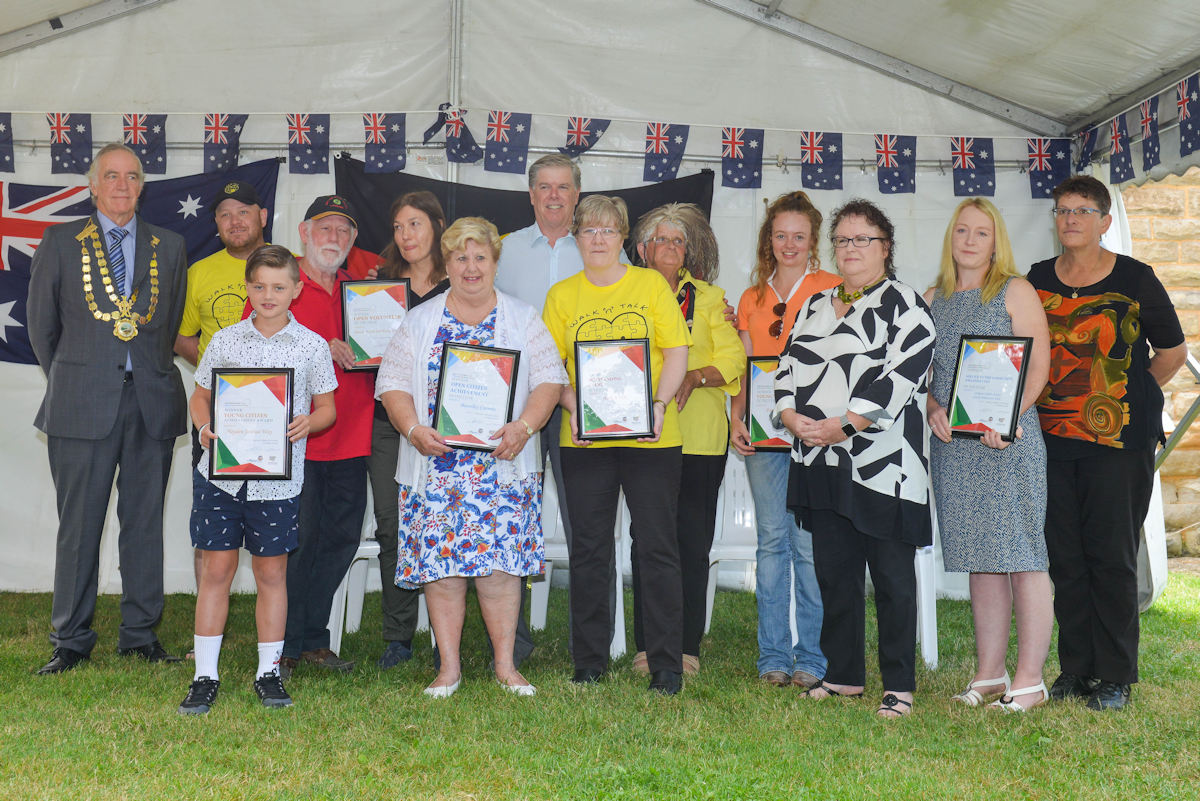 Aust Day 2018 Local Citizens Awardees