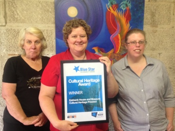 Eskbank House Team Members Jenny Fuller Wendy Hawkes and Zoe Coughlan (2)