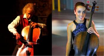 Performers at Eskbank House - Two Cellos