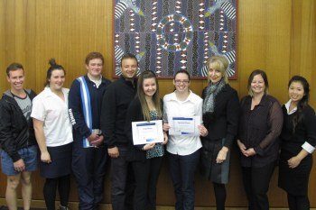 Winners with Youth council