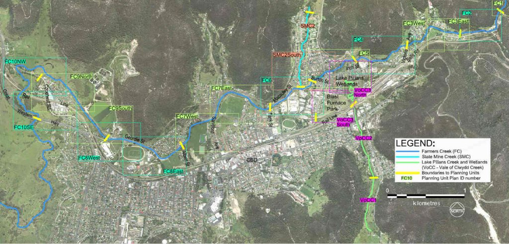 map of Lithgow