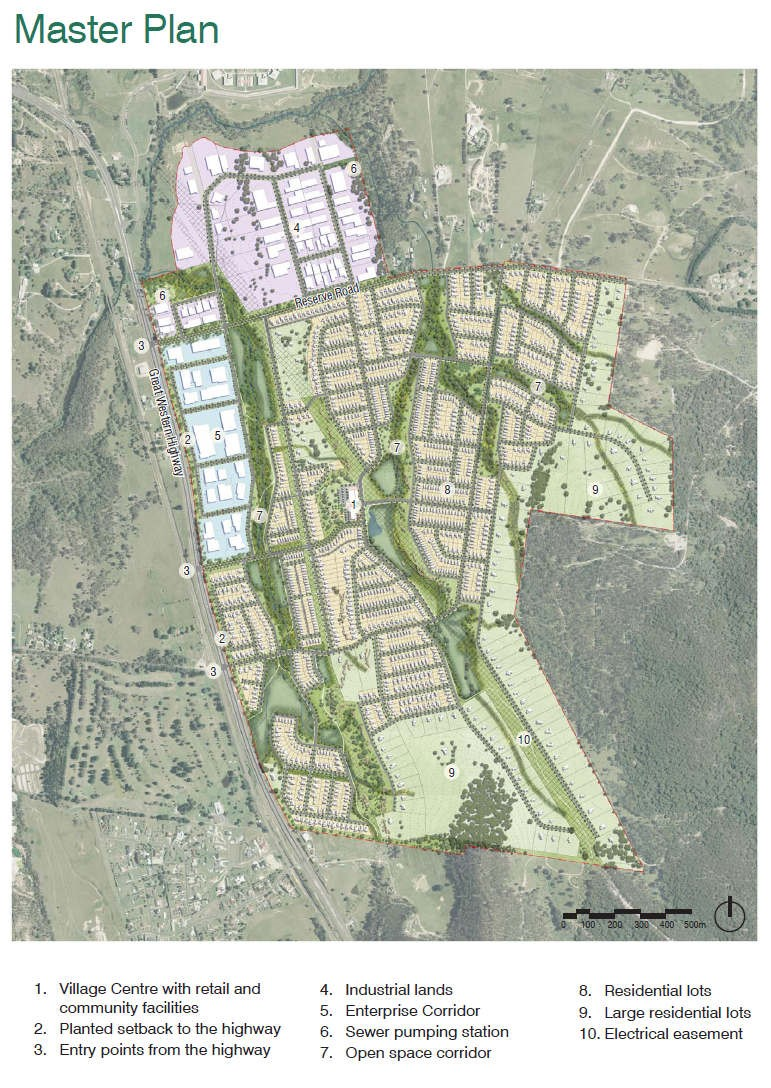 Marrangagroo Masterplan