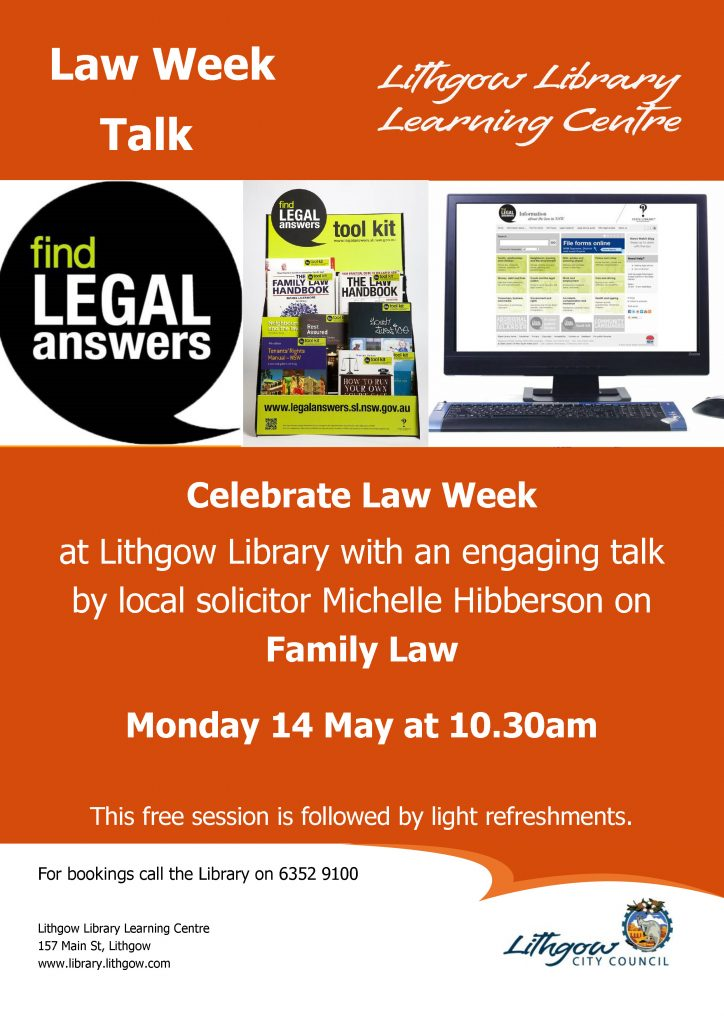 Law Week Poster