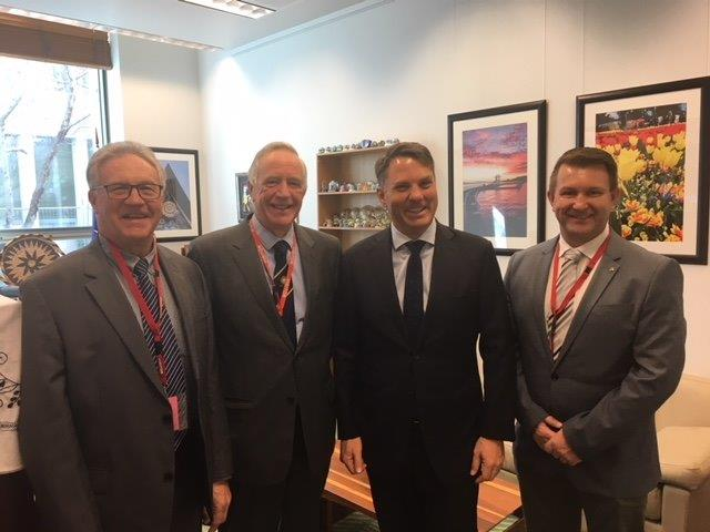 Photo - Meeting with Shadow Minister for Defence Richard Marles