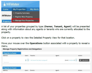 Manage Properties