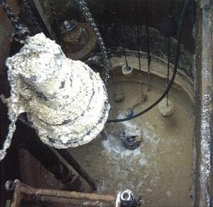 Pumping Station Blockage