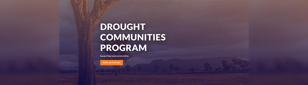 Drought communities