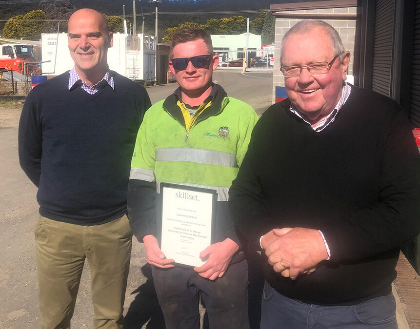 Lithgow Council focuses on the future through support of local apprentices