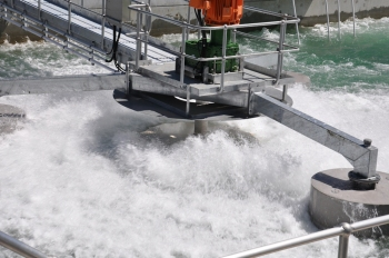 Intermittent decant extended aeration treatment of sewage