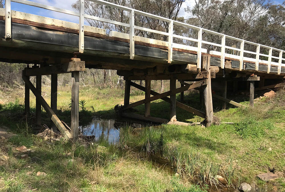 Application made for timber bridge replacements in the Capertee Valley