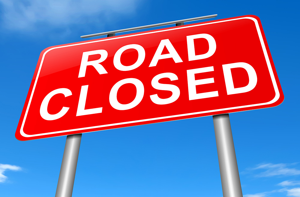 Urgent Closure of Skelly Road, Lidsdale