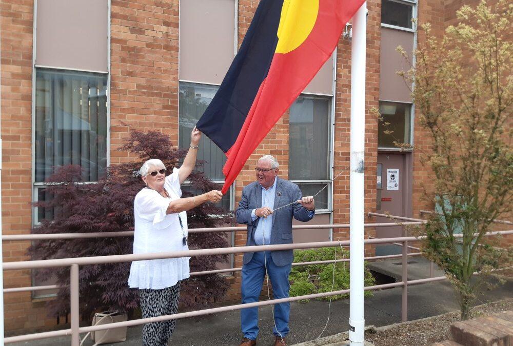 NAIDOC 2020 Flag Raising