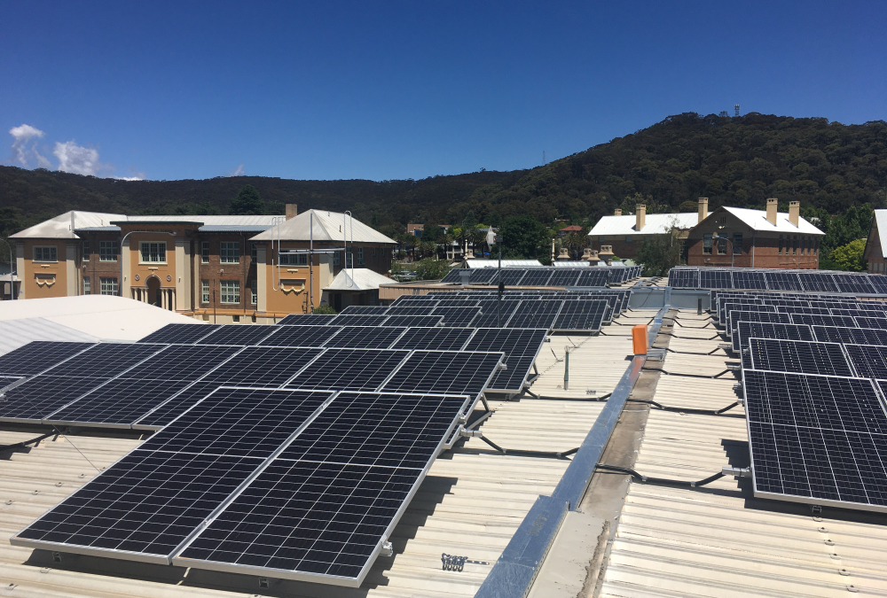 Solar Panel and Battery Installation – Council Administration Building