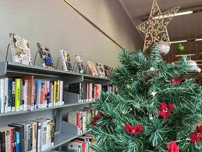 Holiday Hours at Your Library