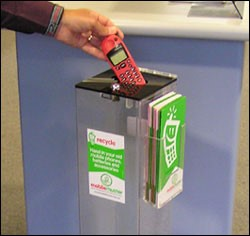 Battery, Mobile Phone & Printer Cartridge Recycling available at Council's Customer Service Centre & Libraries!