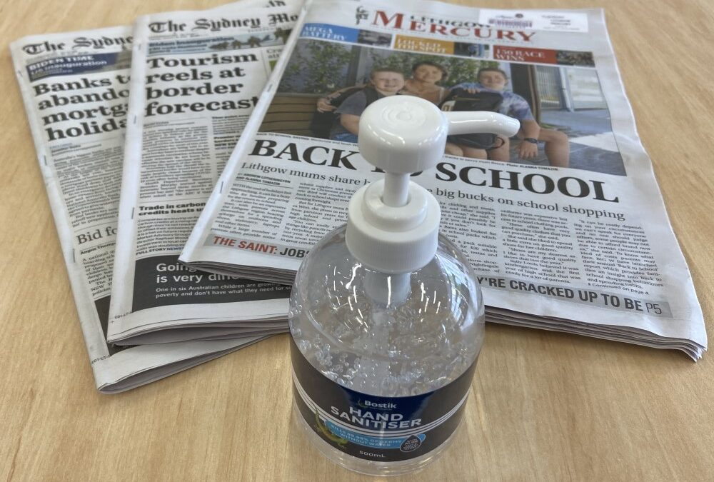 Newspapers are Back at Lithgow Library!