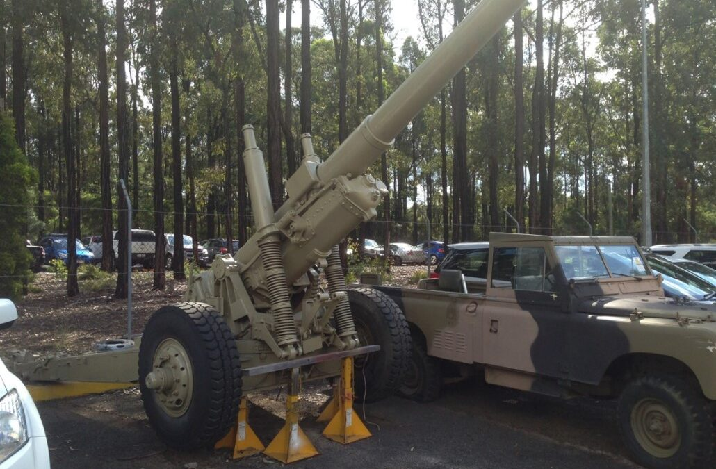 Possible Acquisition of World War Two Artillery Gun