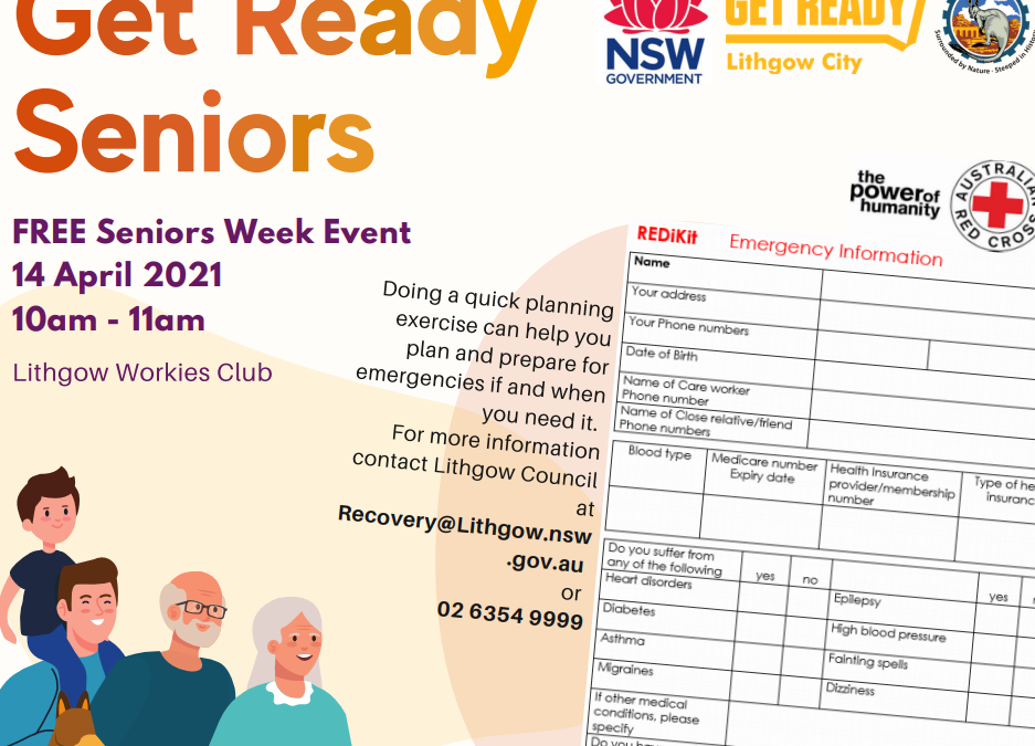 Get Ready Event to Prepare Seniors for Emergencies