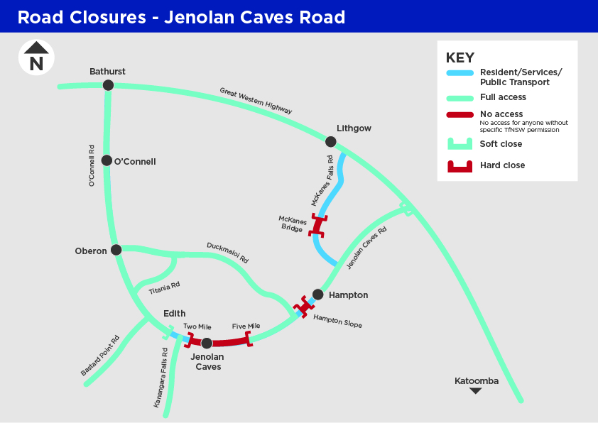 Transport for NSW – UPDATE Jenolan Caves Road