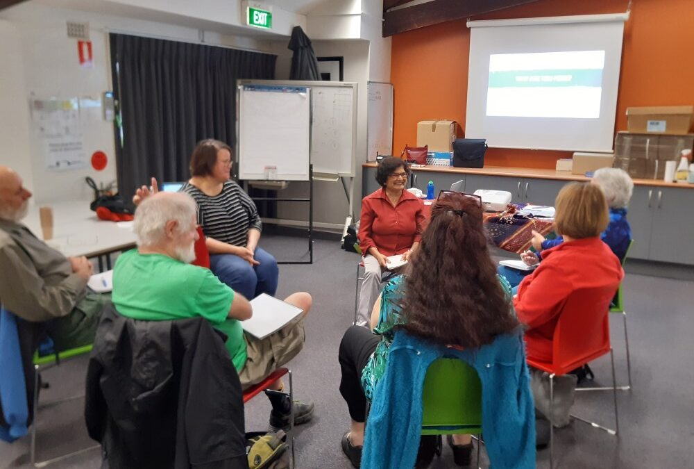 Seniors storytellers are underway