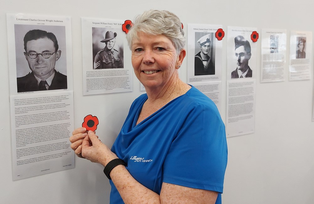 """We will remember them"" at the Lithgow Library"