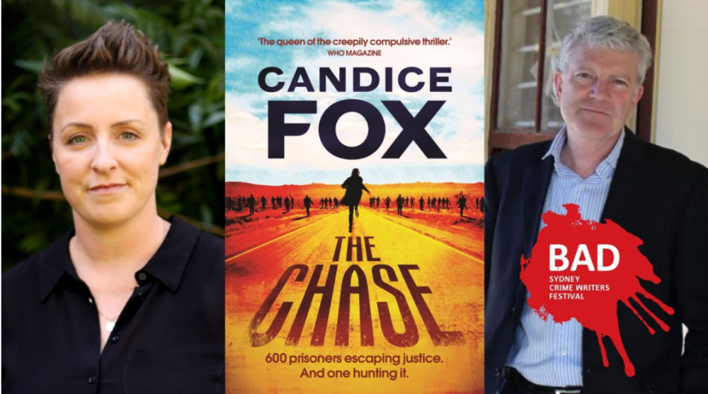Join us in conversation with Michael Duffy & Candice Fox