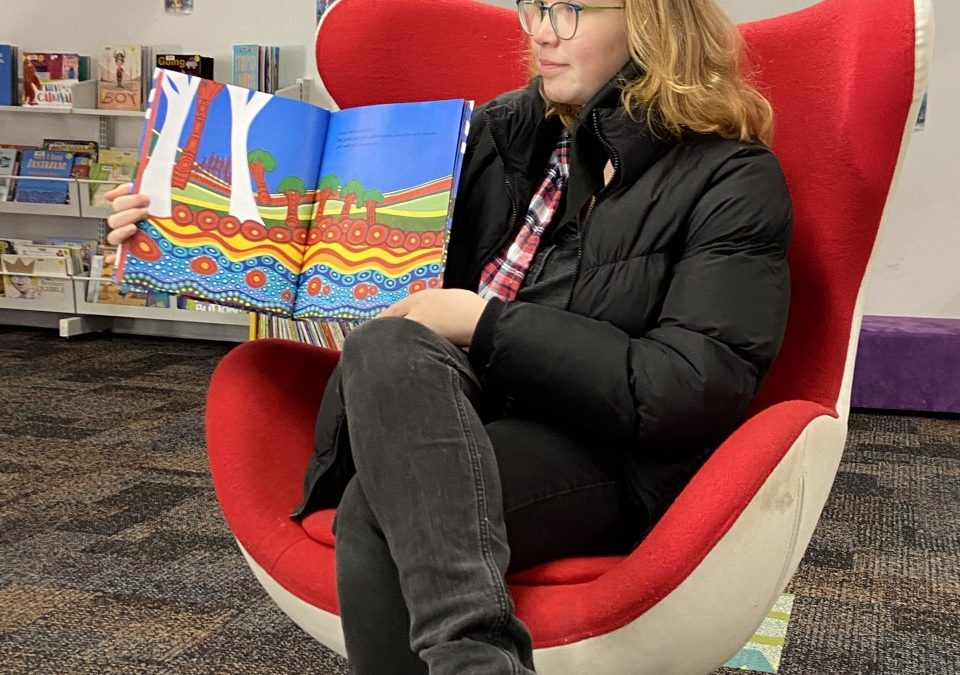 Lithgow Celebrates NAIDOC with Story Time at the Library