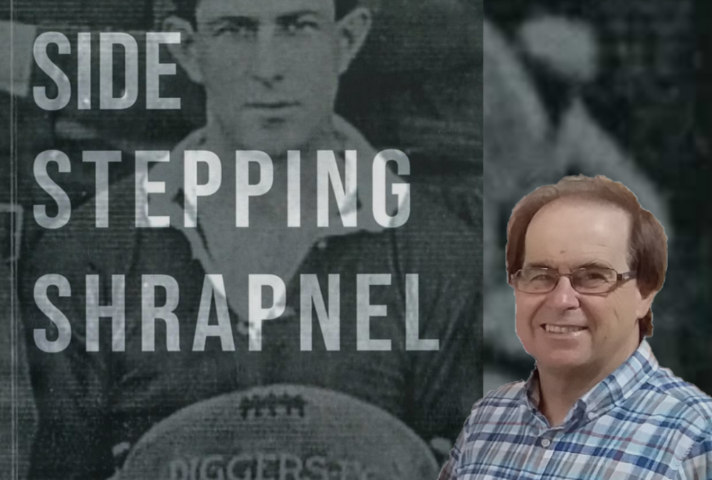To celebrate History Week 2021 the Library is hosting an online speaker event with author Peter Baker discussing his book 'Side Stepping Shrapnel' about the history of Rugby League in Lithgow.
