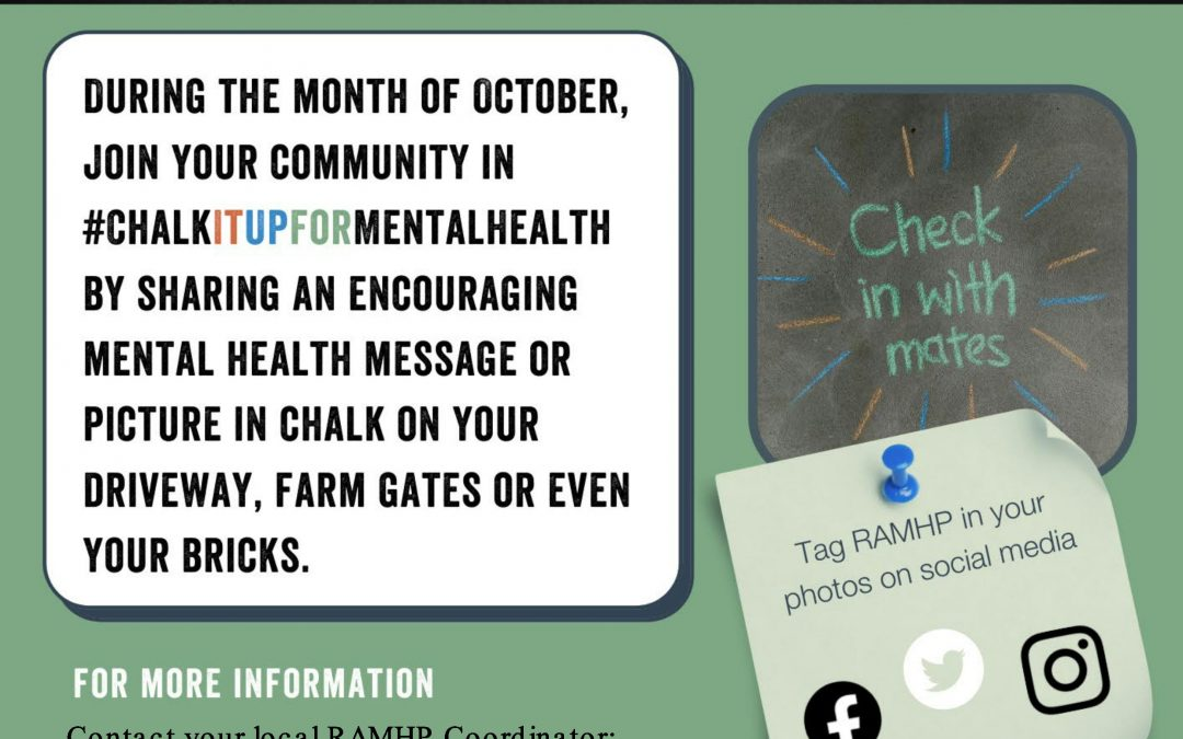 Chalk It Up for Mental Health this October