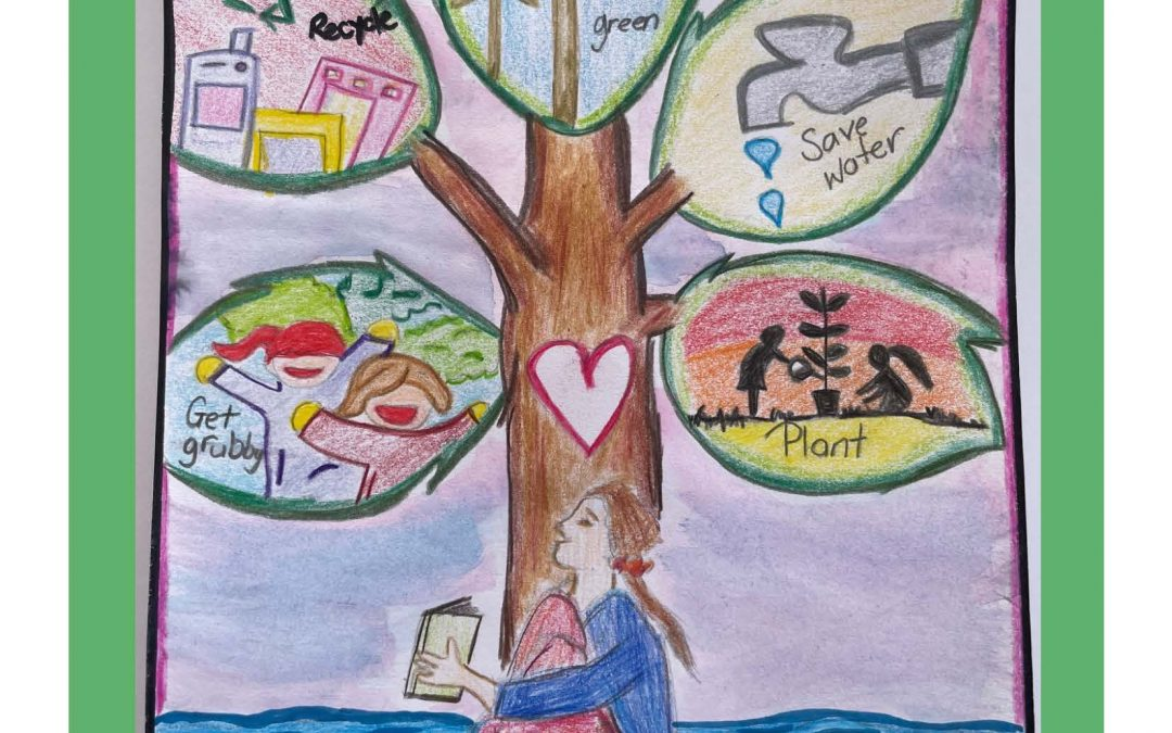 Winners of 2021 'Get Grubby and Thrive' Primary School Art Competition